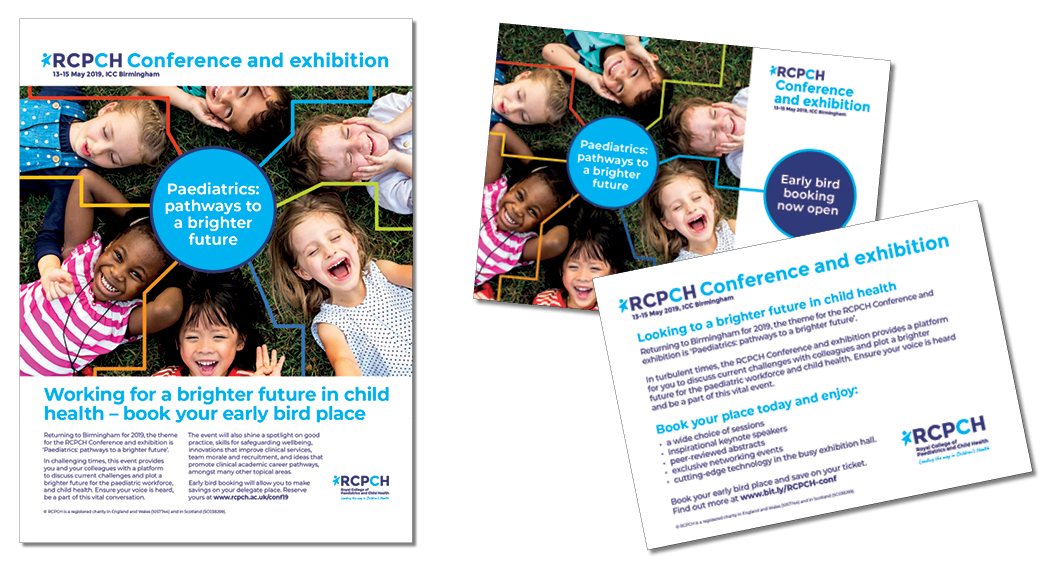 RCPCH poster card