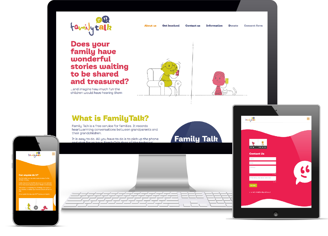 Family Talk website